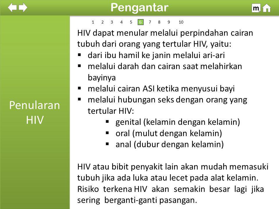 Penularan HIV Pengantar