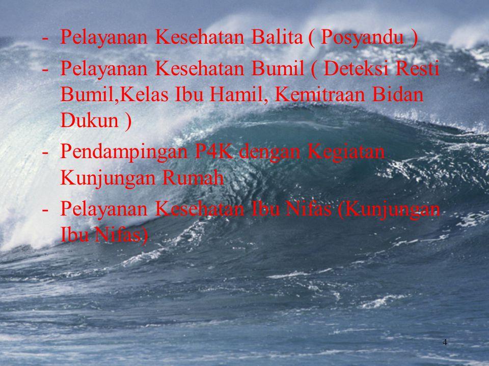 Pelayanan Kesehatan Balita ( Posyandu )