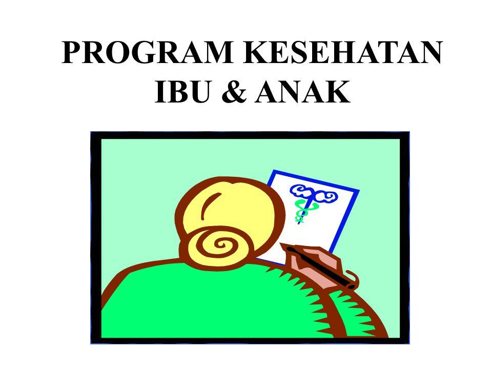 PROGRAM KESEHATAN IBU & ANAK
