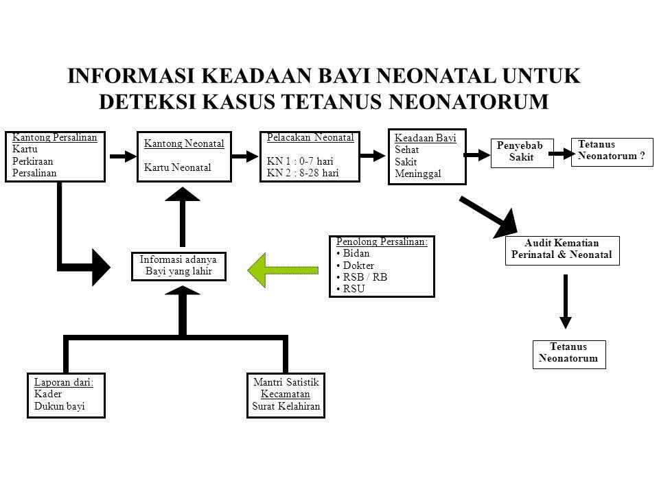 INFORMASI KEADAAN BAYI NEONATAL UNTUK DETEKSI KASUS TETANUS NEONATORUM