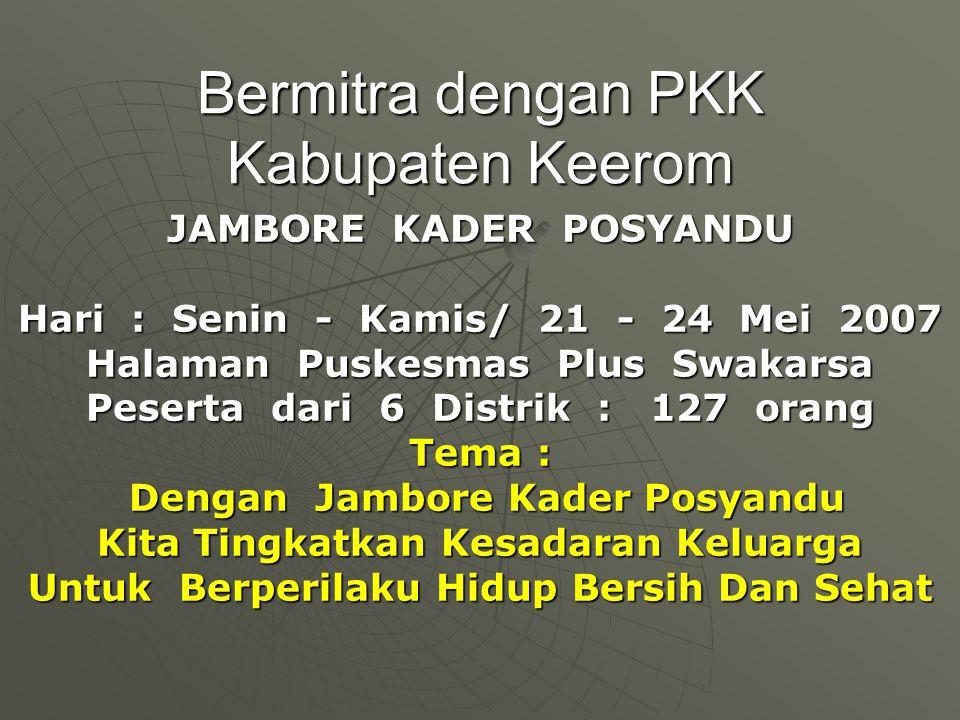 Bermitra dengan PKK Kabupaten Keerom