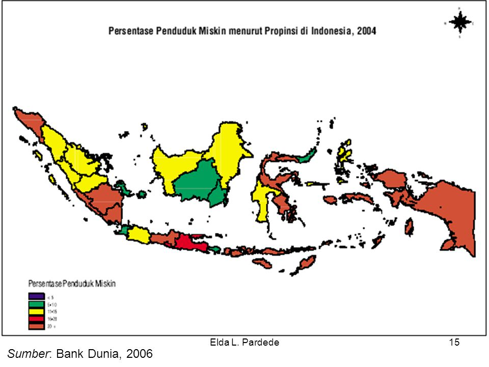Elda L. Pardede Sumber: Bank Dunia, 2006