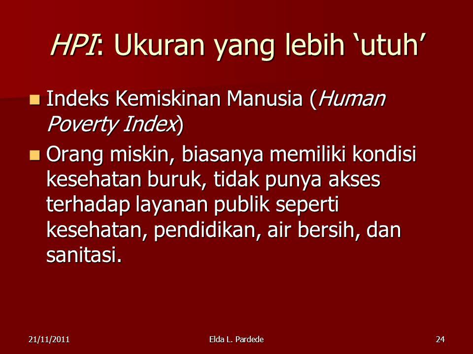 HPI: Ukuran yang lebih 'utuh'