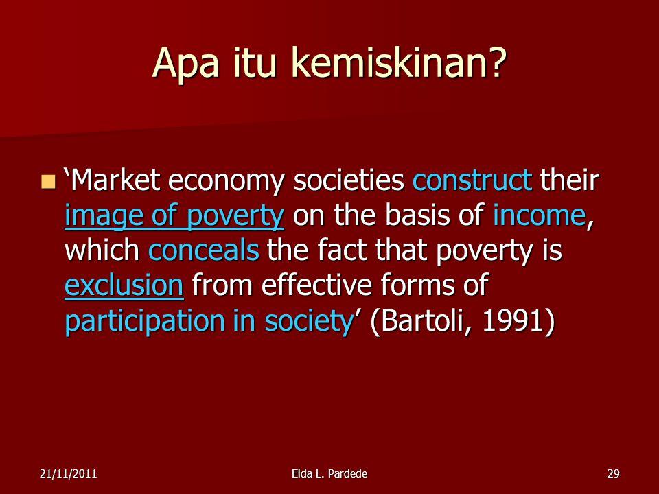 Apa itu kemiskinan