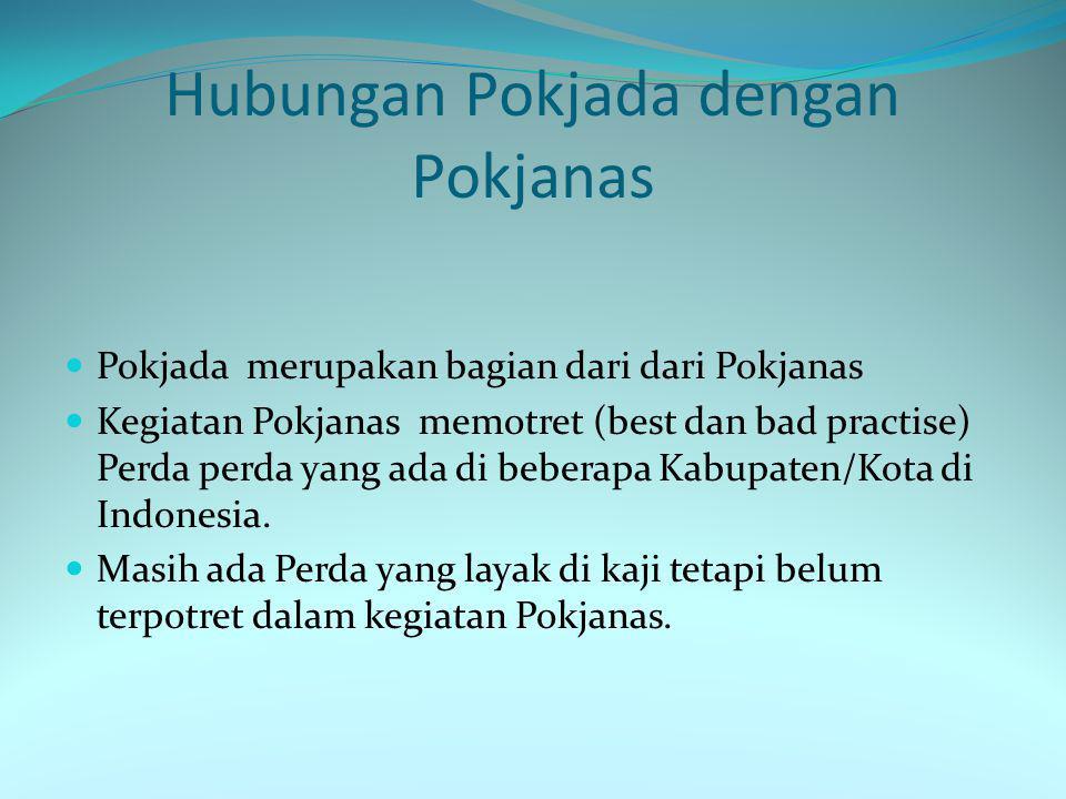 Hubungan Pokjada dengan Pokjanas
