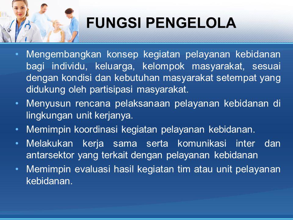 FUNGSI PENGELOLA