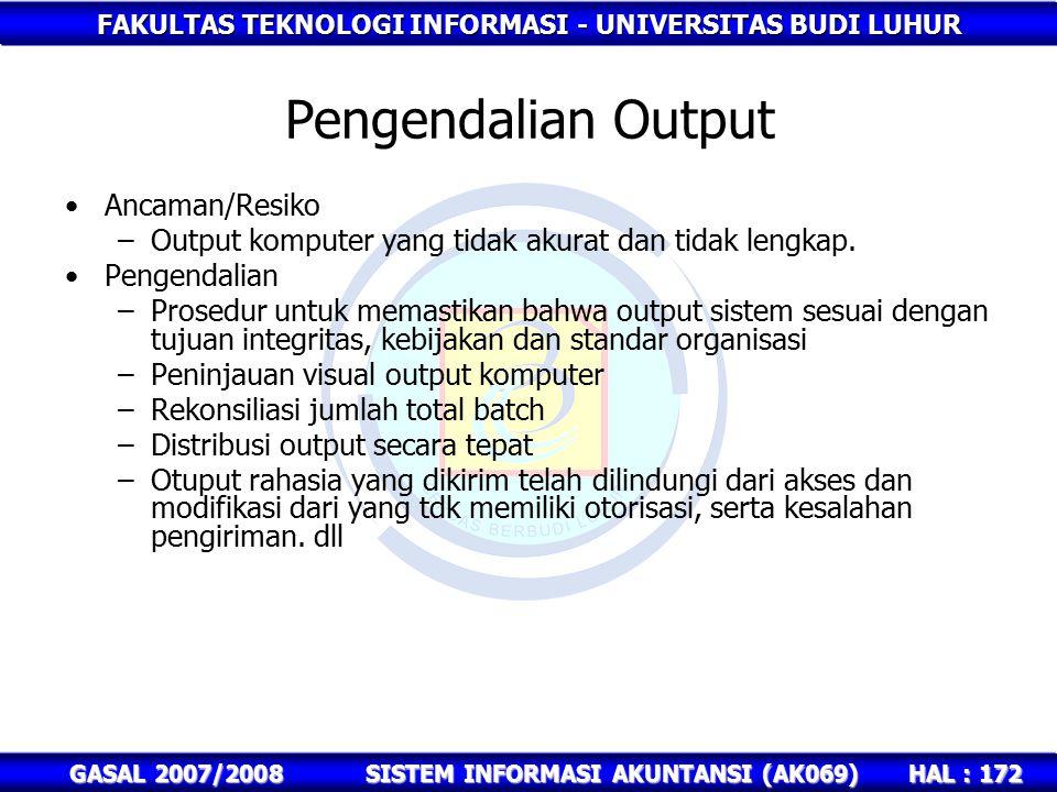 SISTEM INFORMASI AKUNTANSI (AK069)