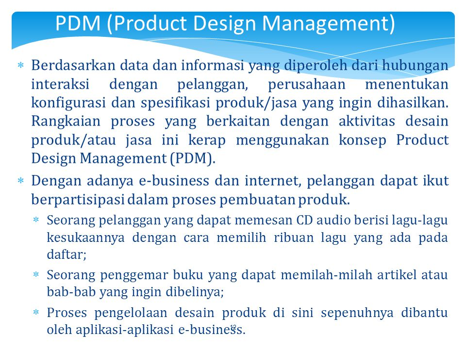 PDM (Product Design Management)