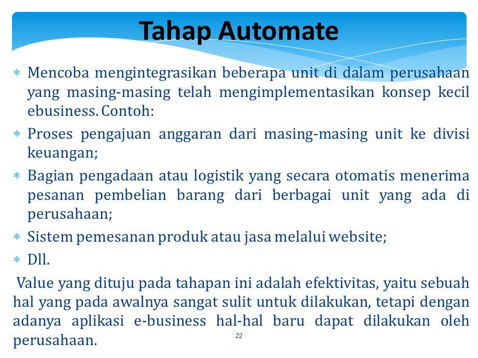 Tahap Automate