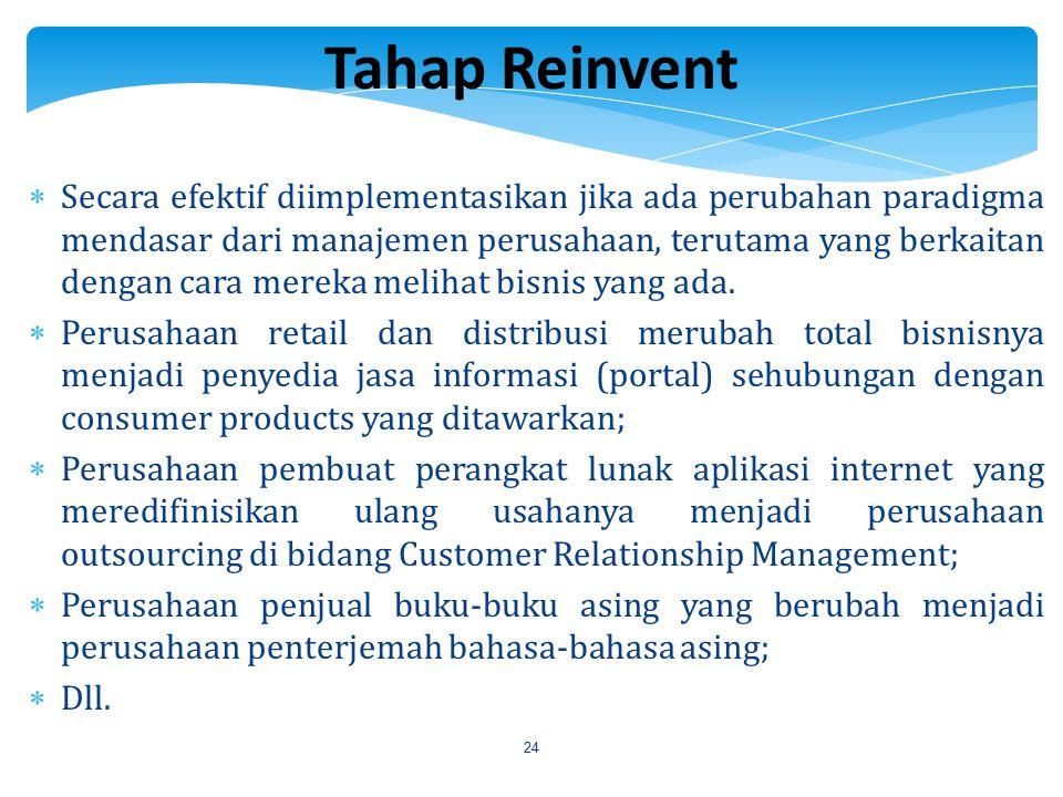 Tahap Reinvent