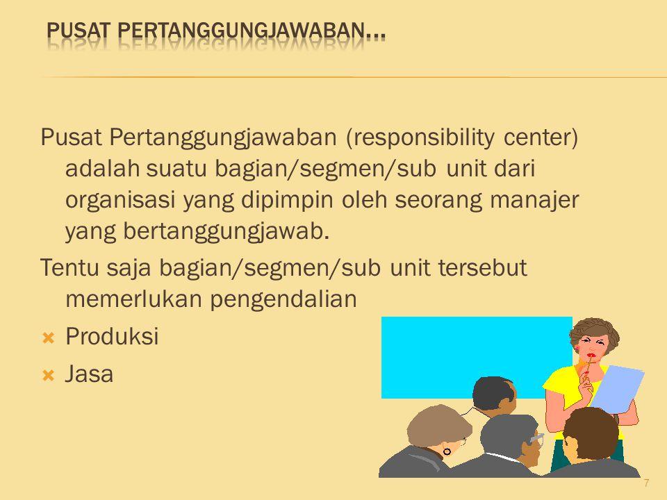 Pusat Pertanggungjawaban...