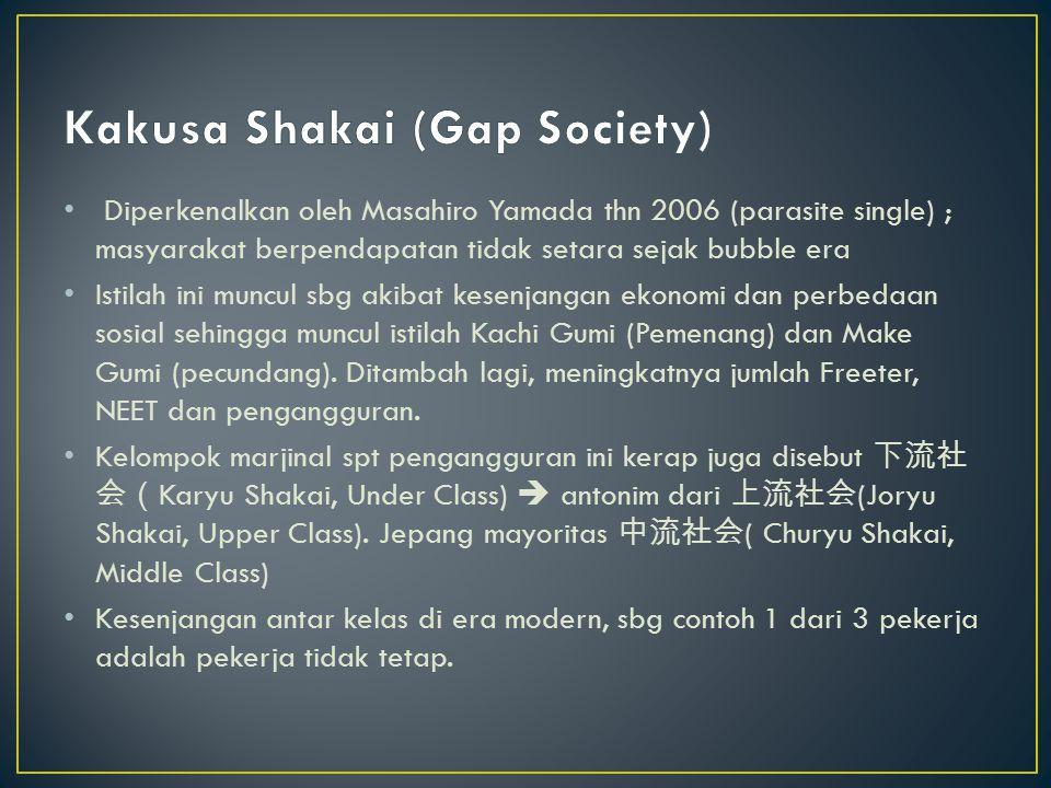 Kakusa Shakai (Gap Society)