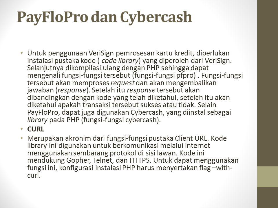 PayFloPro dan Cybercash