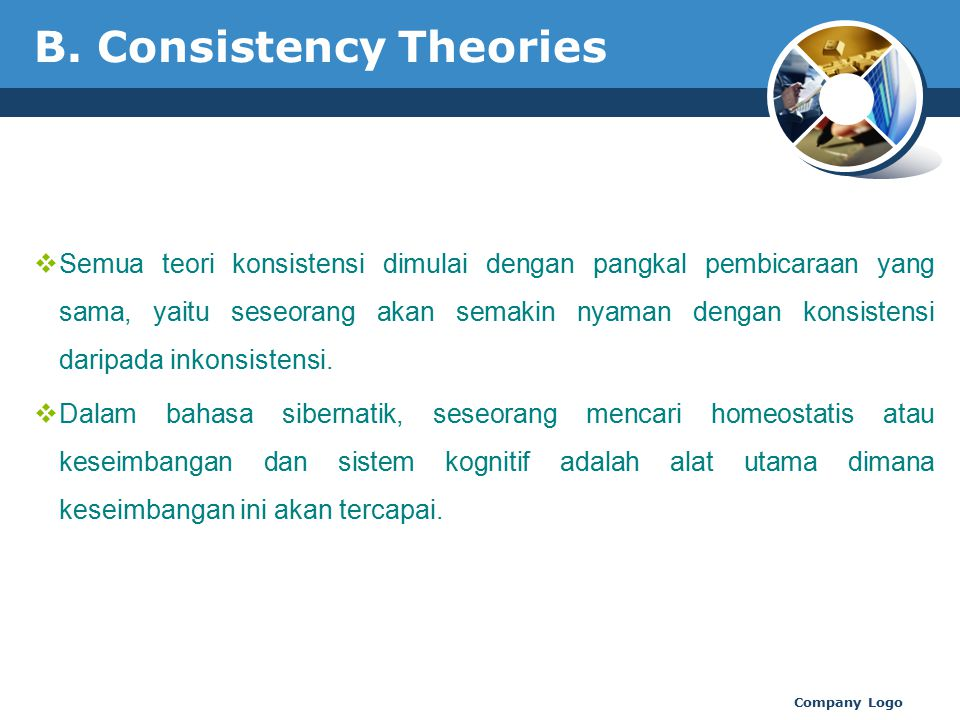 B. Consistency Theories