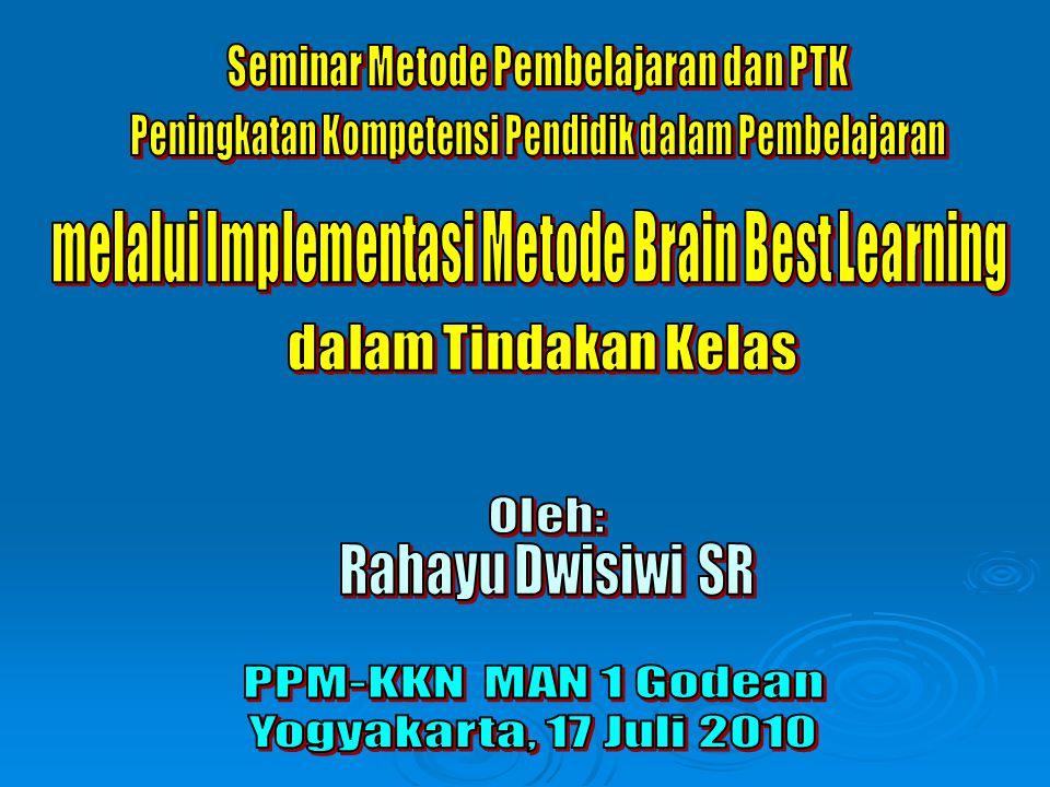 Seminar Metode Pembelajaran dan PTK