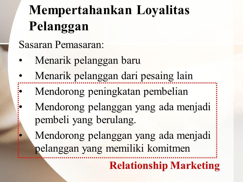 Mempertahankan Loyalitas Pelanggan