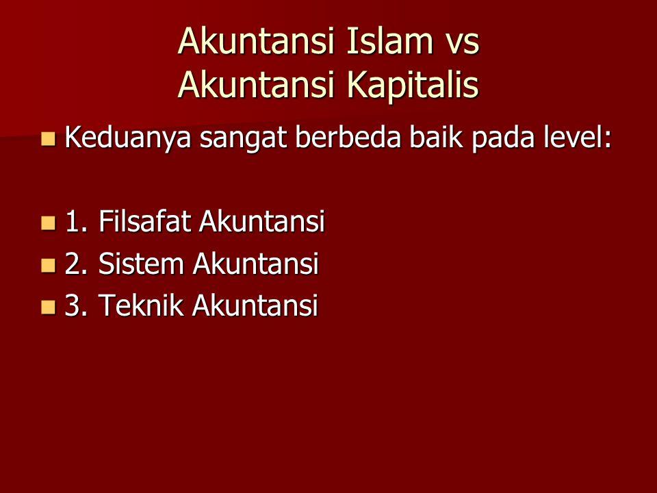 Akuntansi Islam vs Akuntansi Kapitalis