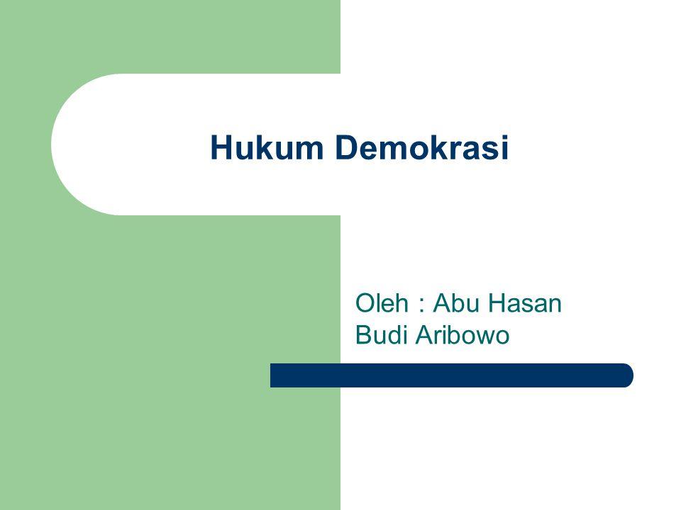Oleh : Abu Hasan Budi Aribowo