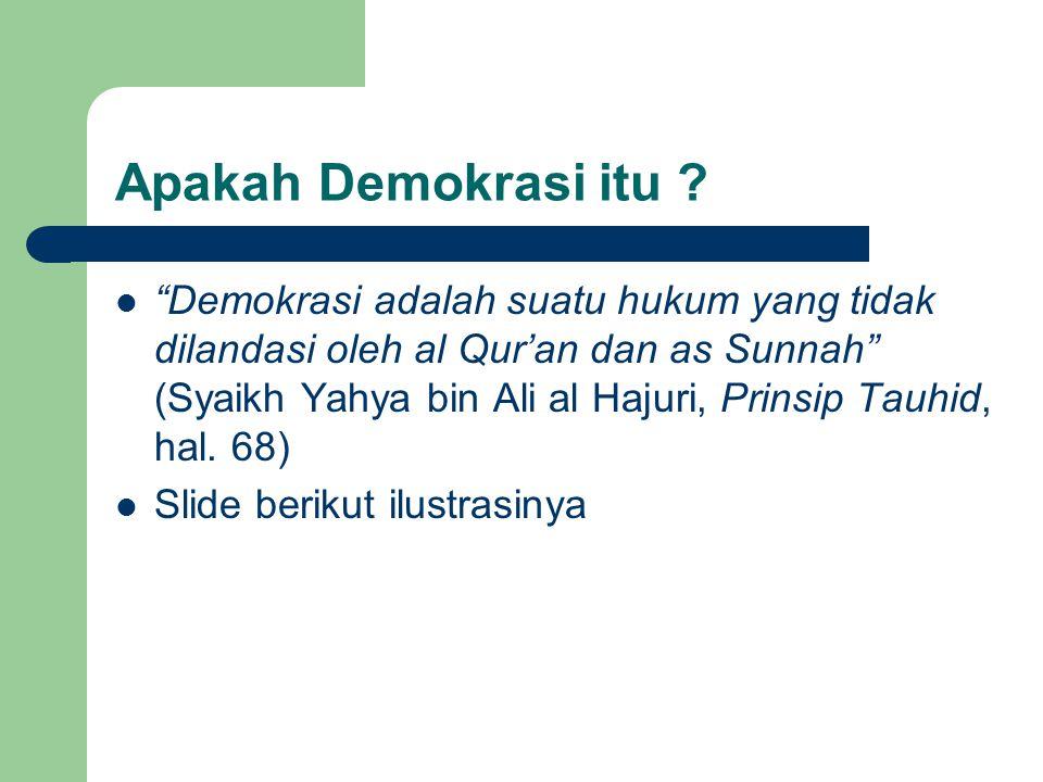 Apakah Demokrasi itu