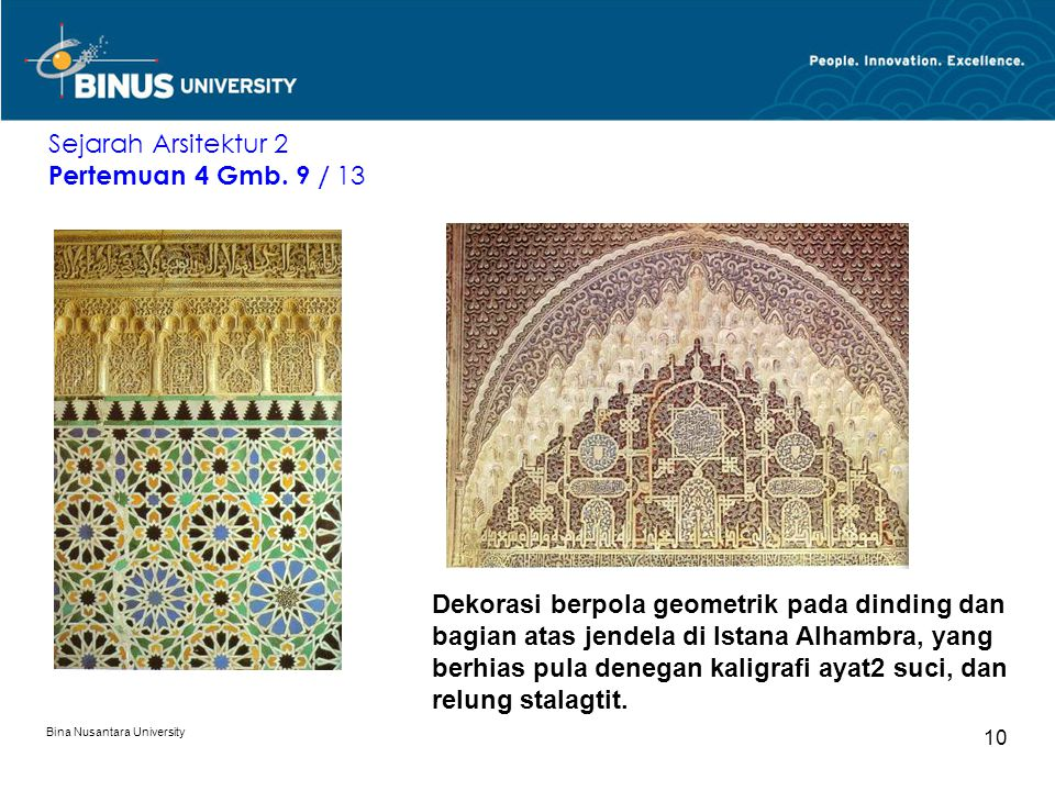 Sejarah Arsitektur 2 Pertemuan 4 Gmb. 9 / 13