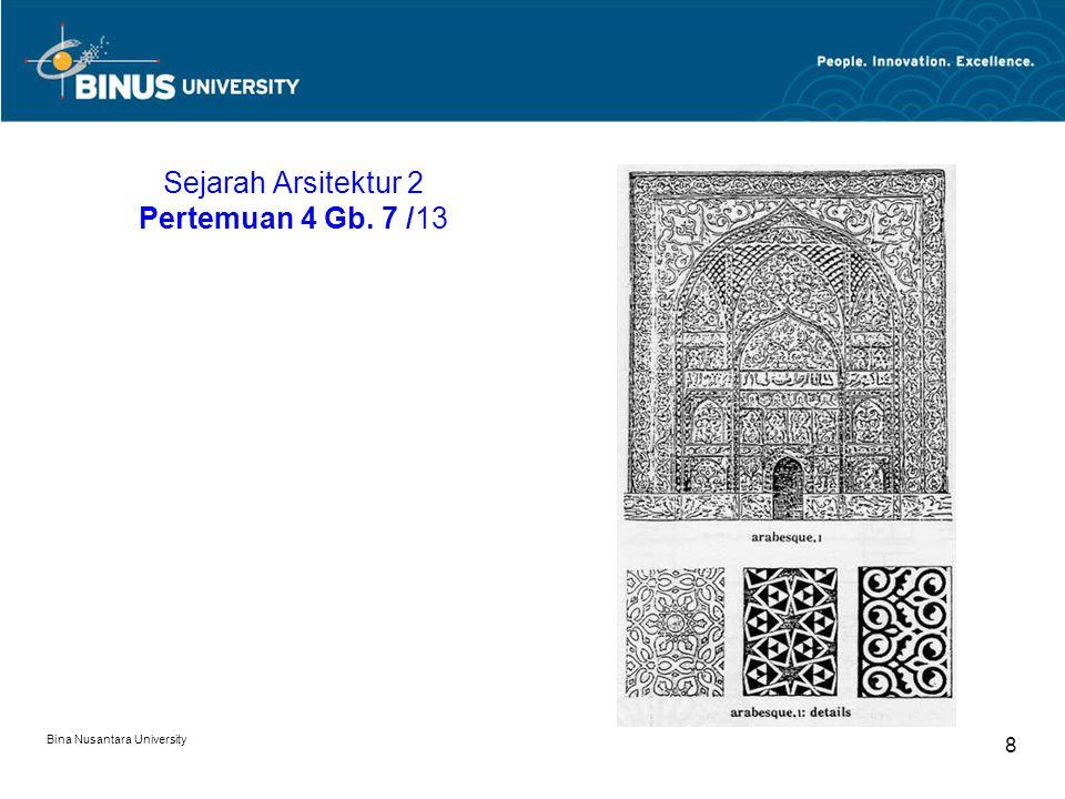 Sejarah Arsitektur 2 Pertemuan 4 Gb. 7 /13