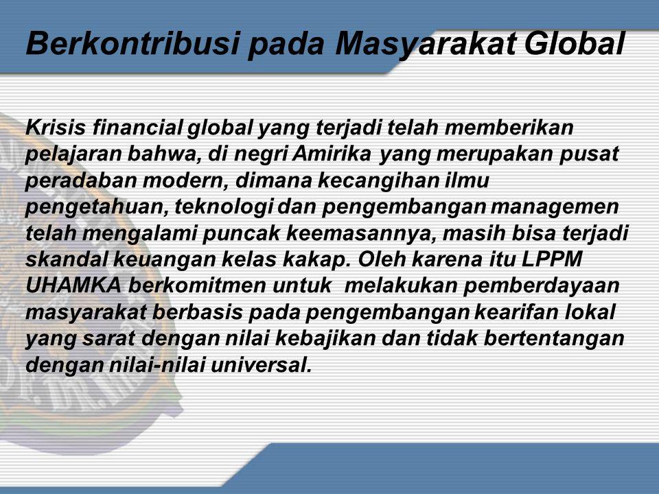 Berkontribusi pada Masyarakat Global