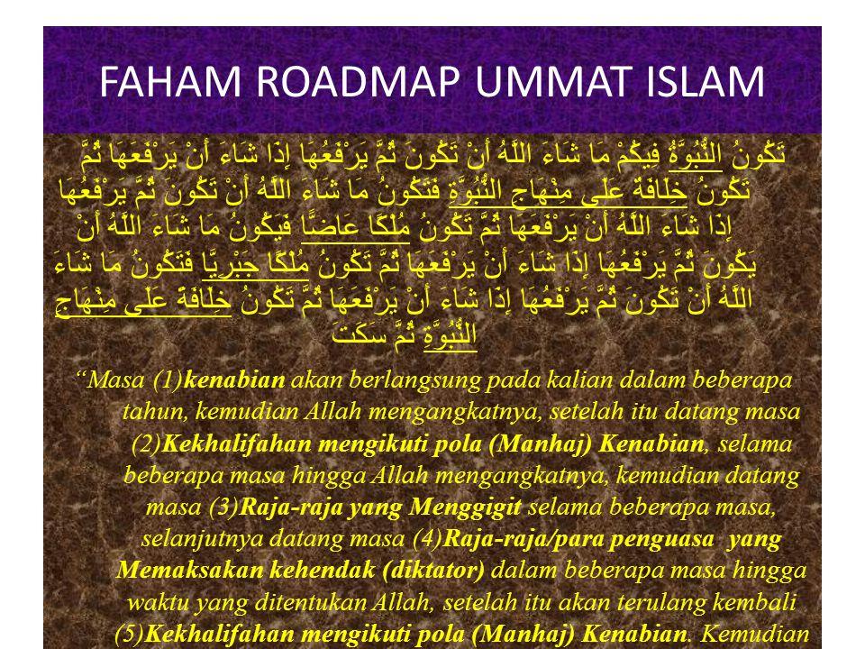FAHAM ROADMAP UMMAT ISLAM