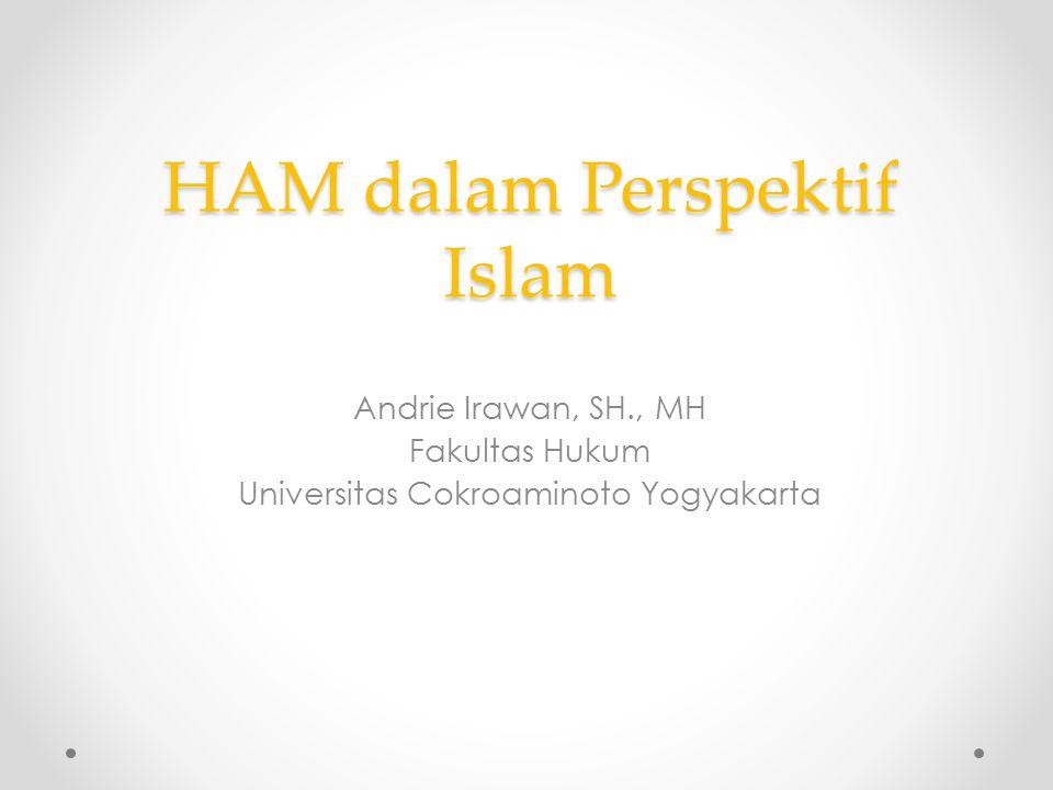 HAM dalam Perspektif Islam