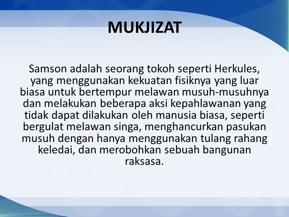 MUKJIZAT