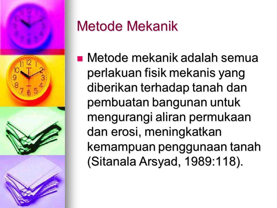 Metode Mekanik