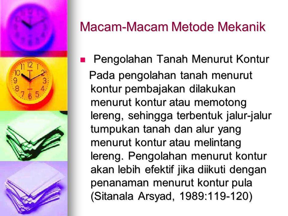Macam-Macam Metode Mekanik