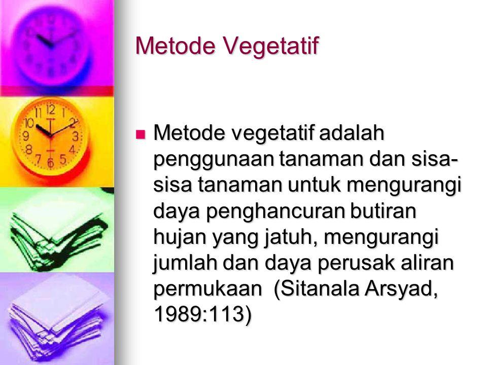 Metode Vegetatif