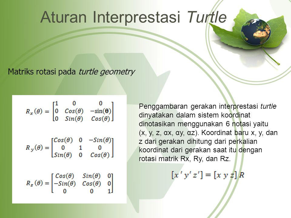 Aturan Interprestasi Turtle