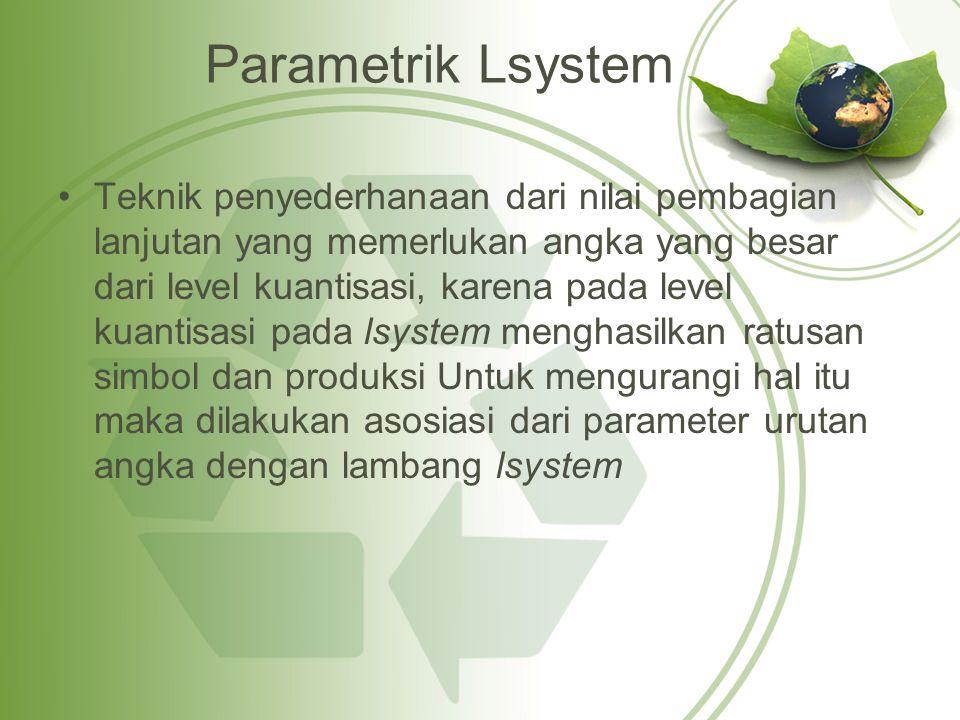 Parametrik Lsystem