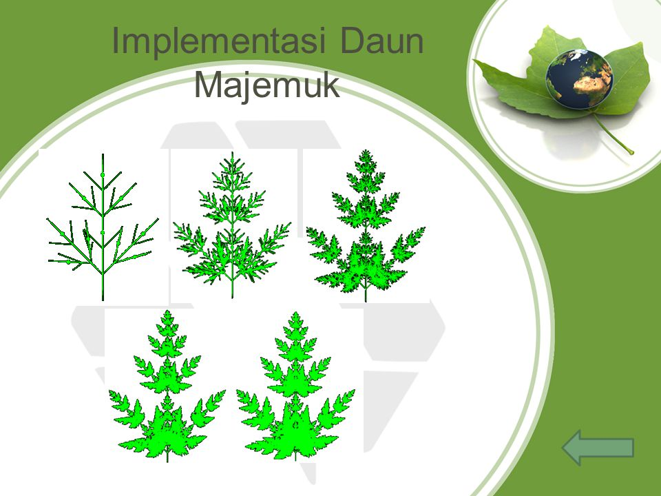 Implementasi Daun Majemuk