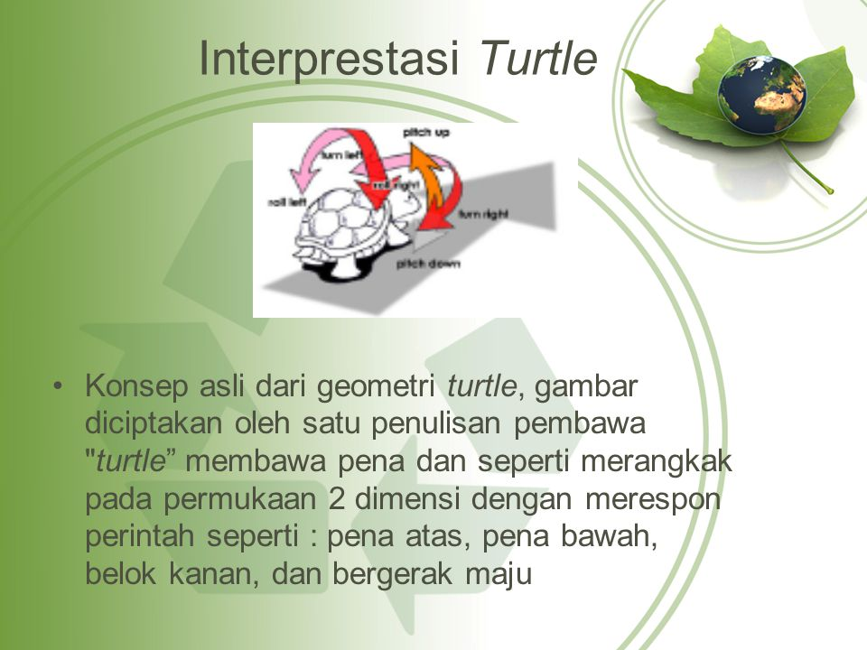 Interprestasi Turtle