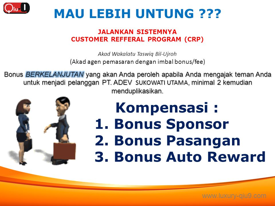 CUSTOMER REFFERAL PROGRAM (CRP)