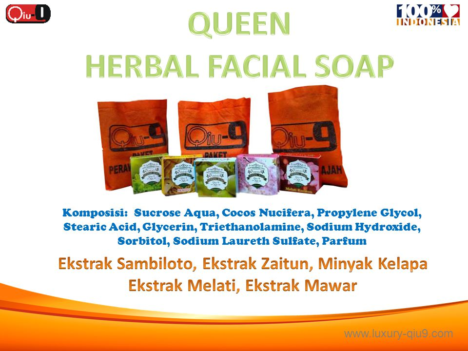 QUEEN HERBAL FACIAL SOAP