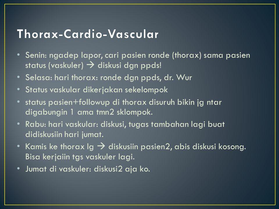 Thorax-Cardio-Vascular