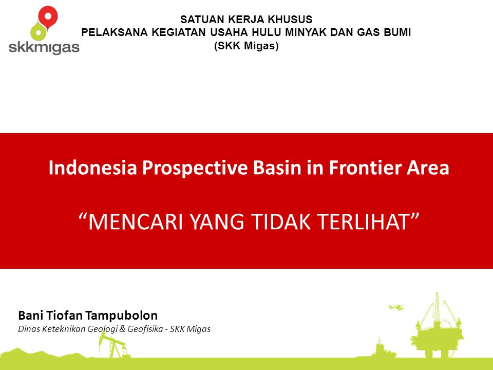 Indonesia Prospective Basin in Frontier Area