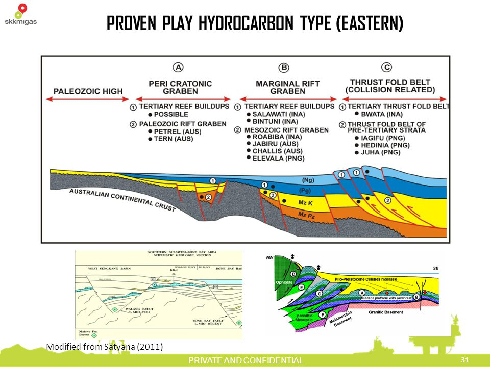 PROVEN PLAY HYDROCARBON TYPE (EASTERN)