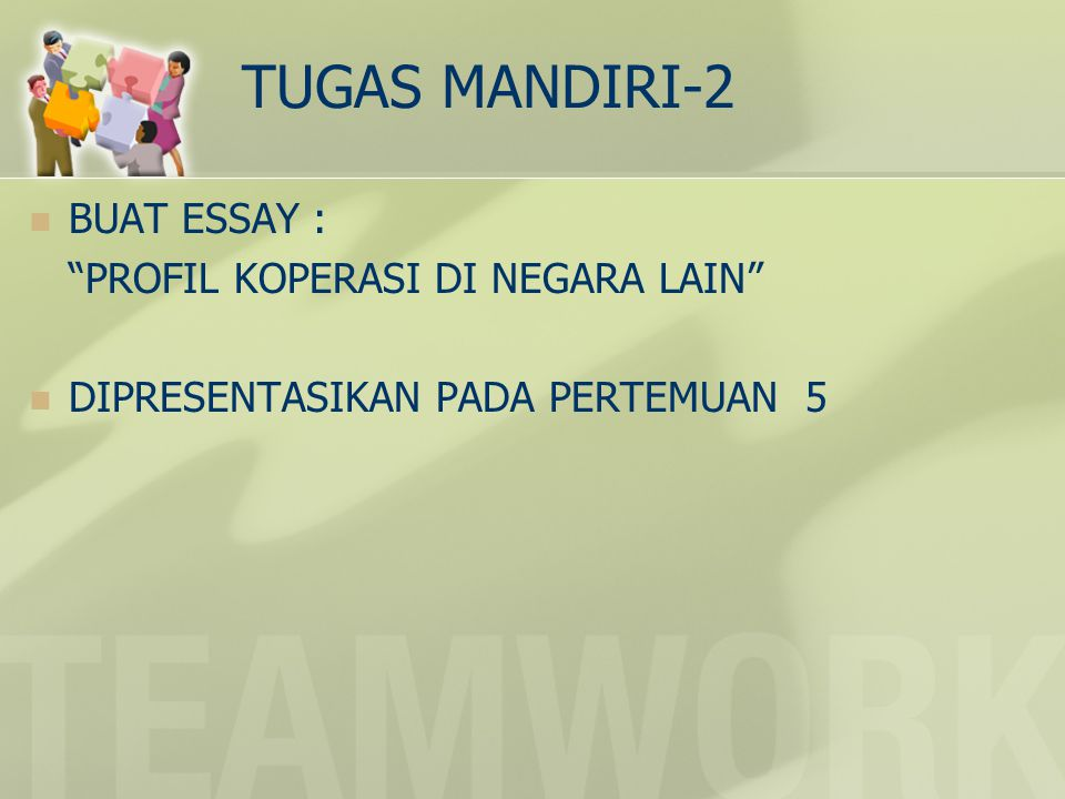 TUGAS MANDIRI-2 BUAT ESSAY : PROFIL KOPERASI DI NEGARA LAIN