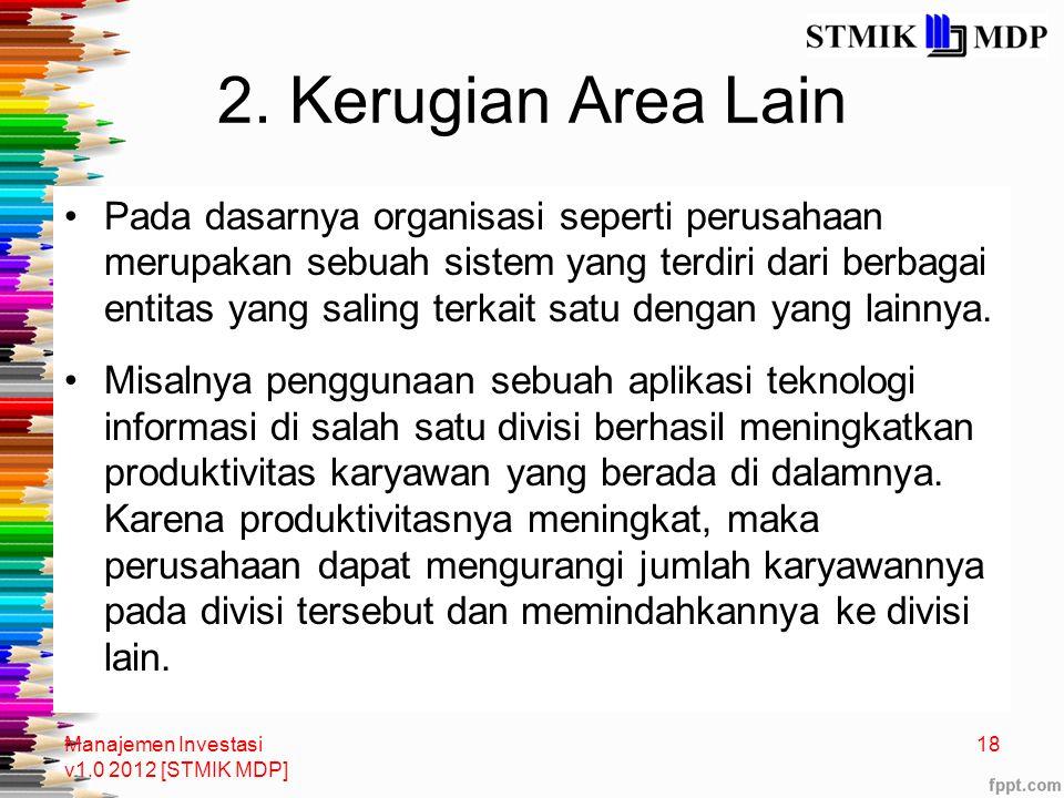 2. Kerugian Area Lain