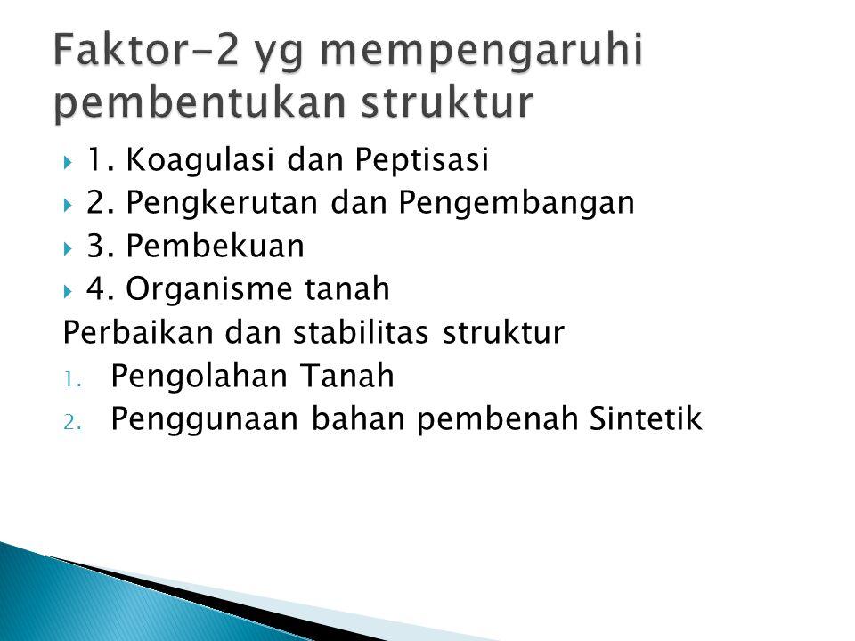 Faktor-2 yg mempengaruhi pembentukan struktur