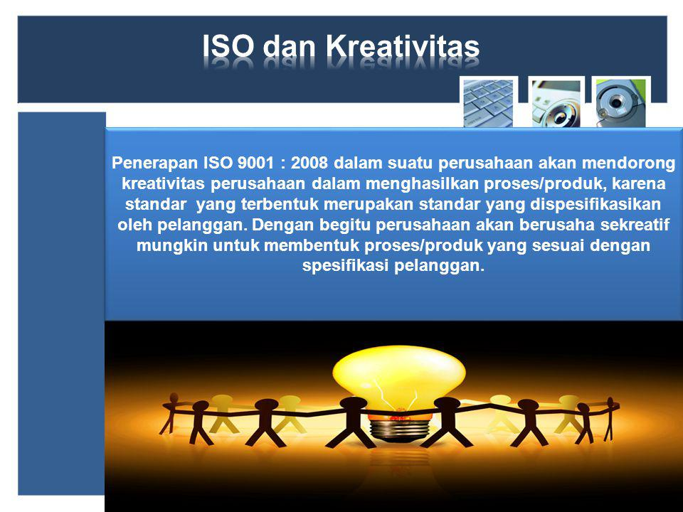 ISO dan Kreativitas