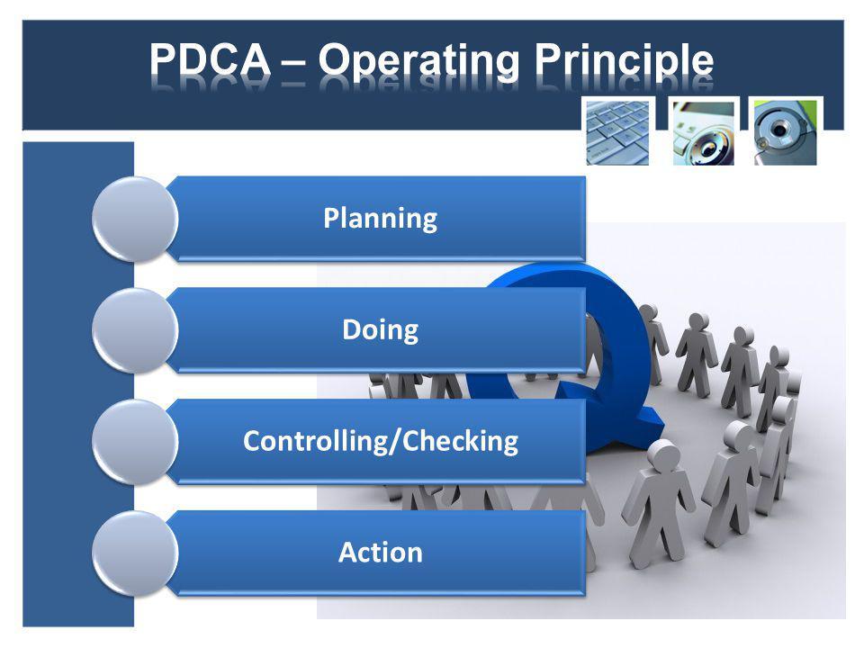 PDCA – Operating Principle