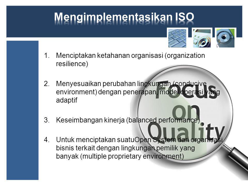 Mengimplementasikan ISO