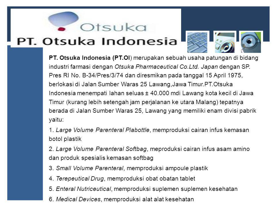 PT. Otsuka Indonesia (PT
