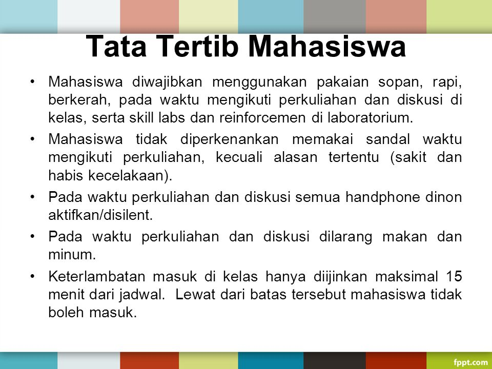 Tata Tertib Mahasiswa