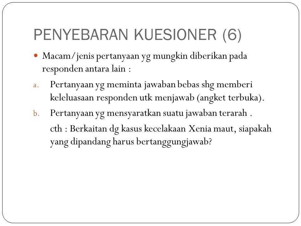PENYEBARAN KUESIONER (6)